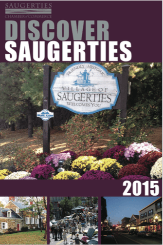 Discover Saugerties Guide 2015 Cover
